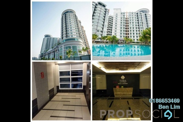 For Rent Condominium at Tiara Mutiara, Old Klang Road Freehold Unfurnished 3R/2B 1.4k