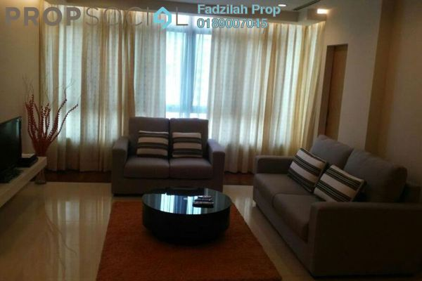 For Rent Condominium at i-Zen Kiara II, Mont Kiara Freehold Fully Furnished 2R/3B 3.5k