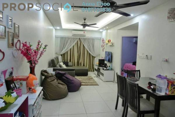 For Sale Condominium at Calisa Residences, Puchong Freehold Semi Furnished 3R/2B 340k