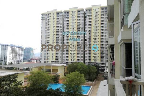 For Sale Condominium at Platinum Lake PV13, Setapak Freehold Unfurnished 4R/2B 518k