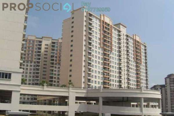 For Rent Condominium at Kuchai Avenue, Kuchai Lama Freehold Semi Furnished 3R/2B 1.4k