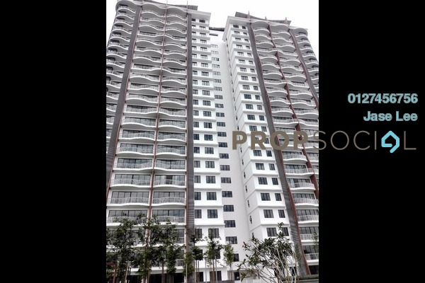 For Sale Condominium at Denai Sutera, Bukit Jalil Freehold Semi Furnished 3R/3B 650k