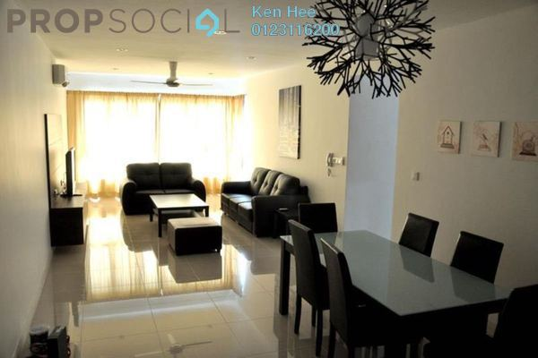 For Rent Condominium at Covillea, Bukit Jalil Freehold Fully Furnished 3R/2B 2.9k