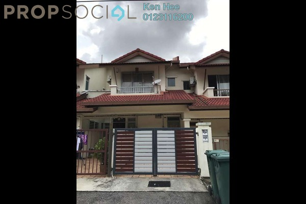 For Sale Townhouse at Bayu Parkville, Balakong Freehold Semi Furnished 3R/2B 428k