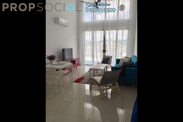 For Rent Condominium at Greenz @ One South, Seri Kembangan Freehold Fully Furnished 3R/2B 2.8k