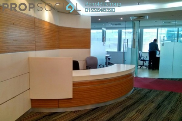 For Rent Office at Plaza Sentral, KL Sentral Freehold Fully Furnished 0R/0B 46k