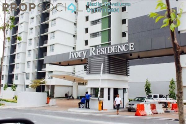 For Sale Condominium at Ivory Residence, Kajang Freehold Unfurnished 3R/2B 400k