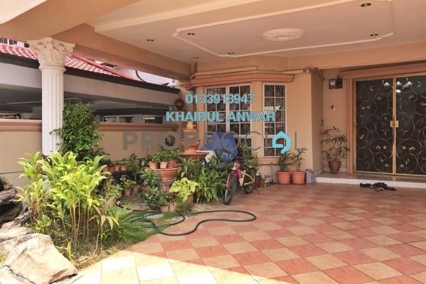 For Sale Terrace at Taman Melati, Setapak Freehold Semi Furnished 4R/3B 900k