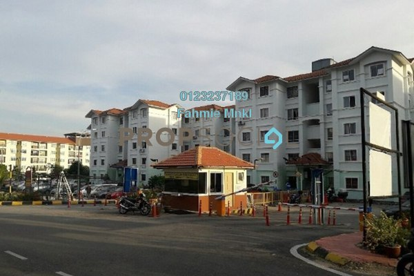For Sale Apartment at Residensi Warnasari, Kuala Selangor Leasehold Semi Furnished 3R/2B 165k