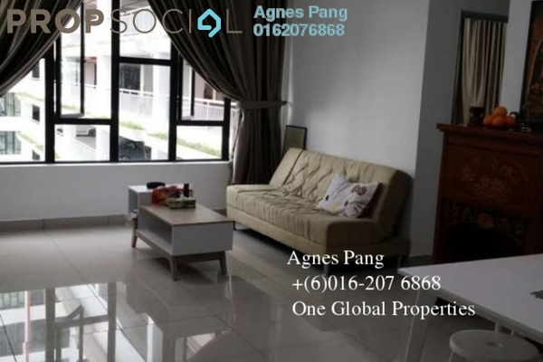 For Sale Condominium at Austin Regency, Tebrau Freehold Fully Furnished 2R/2B 318k