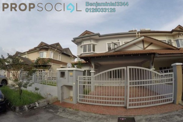For Sale Semi-Detached at Seri Aman Heights, Sungai Buloh Freehold Semi Furnished 4R/3B 1.2m