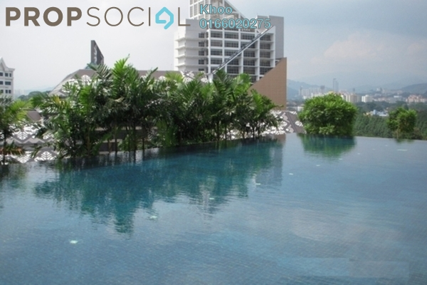 For Rent Condominium at The Orion, KLCC Freehold Fully Furnished 3R/2B 3k
