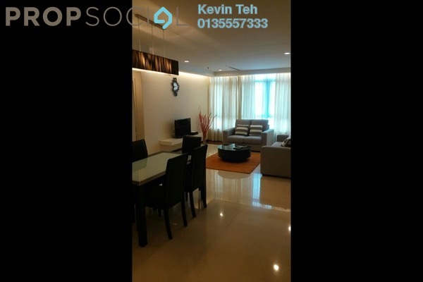 For Rent Condominium at i-Zen Kiara II, Mont Kiara Freehold Fully Furnished 3R/3B 3.5k