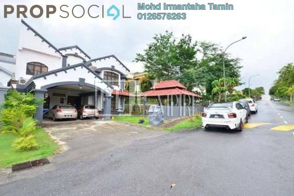 For Sale Semi-Detached at Kelab Golf Sultan Abdul Aziz Shah, Shah Alam Leasehold Semi Furnished 5R/5B 1.75m
