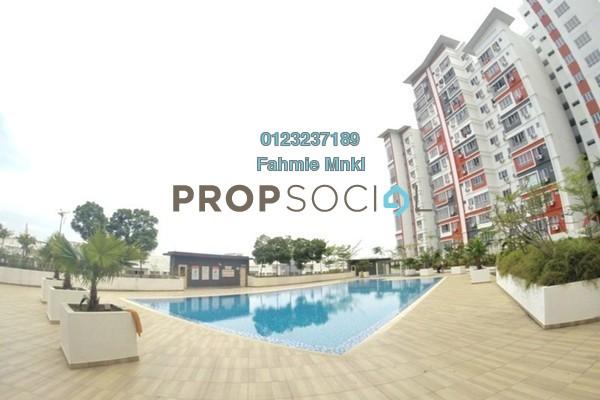 For Sale Condominium at Diamond Residence @ Serdang, Seri Kembangan Leasehold Fully Furnished 4R/3B 450k