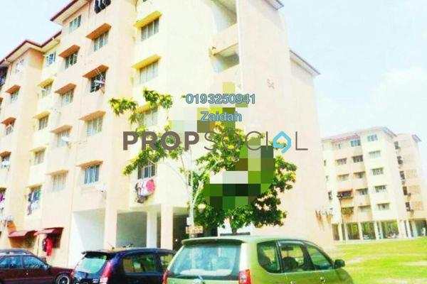 For Sale Apartment at Section 7, Shah Alam Freehold Unfurnished 3R/2B 169k