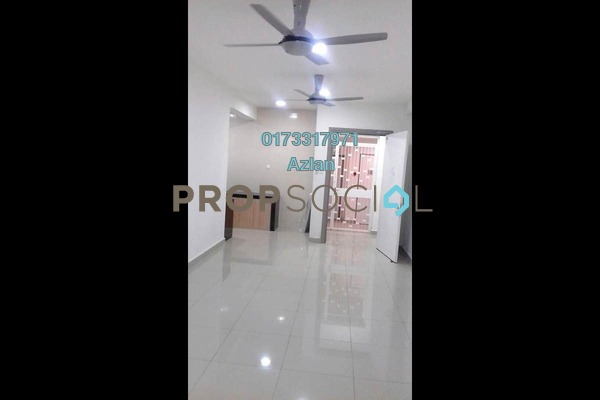 For Rent Condominium at Sentul Rafflesia, Sentul Freehold Semi Furnished 3R/2B 1.8k