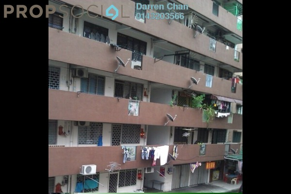 For Rent Apartment at Taman Miharja, Cheras Freehold Unfurnished 2R/1B 1.2k