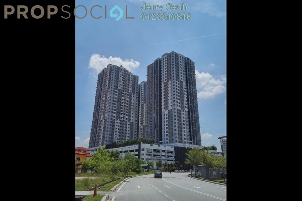 For Rent Serviced Residence at The Wharf, Puchong Freehold Semi Furnished 4R/2B 1.5k