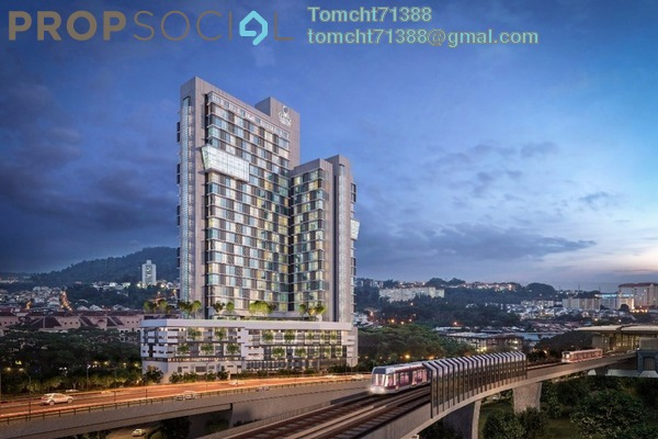 For Sale Condominium at Cheras Business Centre, Cheras Leasehold Unfurnished 1R/1B 232k