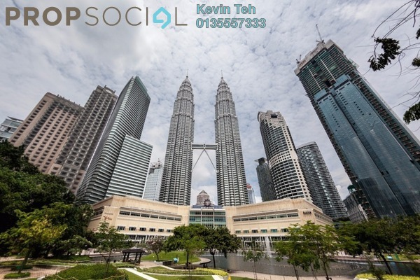 For Sale Condominium at Four Seasons Place, KLCC Freehold Fully Furnished 2R/2B 4.9m