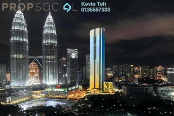 For Sale Condominium at Four Seasons Place, KLCC Freehold Fully Furnished 3R/2B 6m
