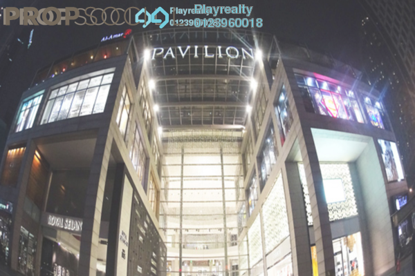 For Rent Office at Pavilion Tower, Bukit Bintang Freehold Fully Furnished 0R/0B 2k