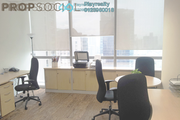 For Rent Office at The Gardens, Mid Valley City Freehold Fully Furnished 0R/0B 2k