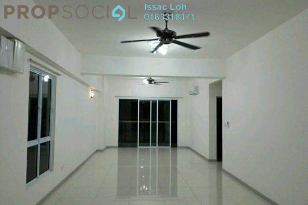 For Rent Condominium at Villa Orkid, Segambut Freehold Semi Furnished 3R/2B 2.2k