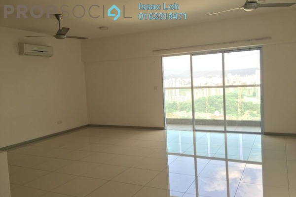 For Rent Condominium at Villa Orkid, Segambut Freehold Semi Furnished 3R/2B 2.4k