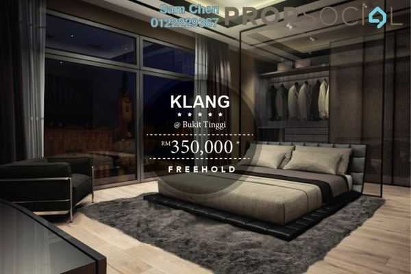 For Sale Serviced Residence at Gravit8, Klang Freehold Semi Furnished 2R/1B 350k