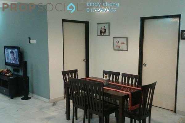 For Rent Condominium at Perdana Puri, Kepong Freehold Fully Furnished 3R/2B 1.4k