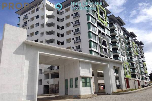 For Rent Condominium at Mahkota Garden Condominium, Bandar Mahkota Cheras Freehold Fully Furnished 4R/3B 1.7k