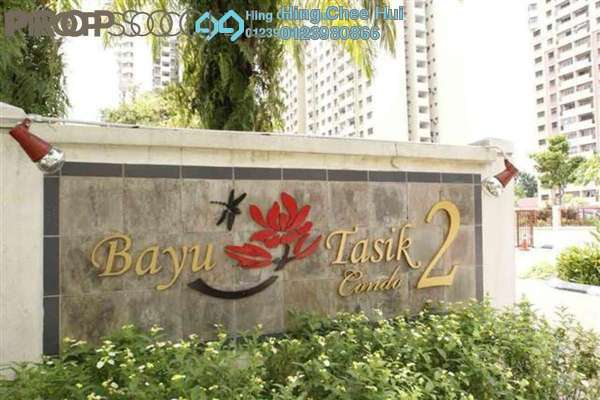 For Rent Condominium at Bayu Tasik 2, Bandar Sri Permaisuri Leasehold Semi Furnished 3R/2B 1.5k