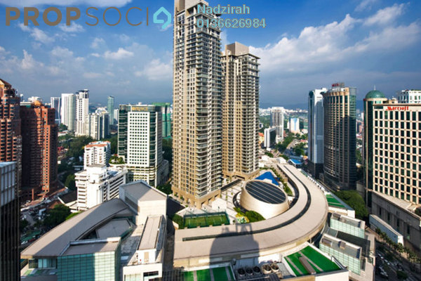 For Sale Condominium at Pavilion Residences, Bukit Bintang Freehold Semi Furnished 2R/2B 2.8m