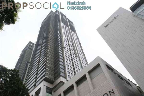 For Rent Condominium at Pavilion Residences, Bukit Bintang Freehold Semi Furnished 2R/2B 9k