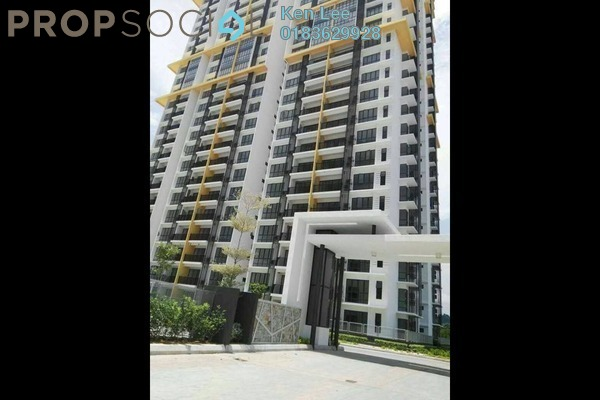 For Sale Condominium at The Oasis, Cheras South Freehold Semi Furnished 3R/2B 480k