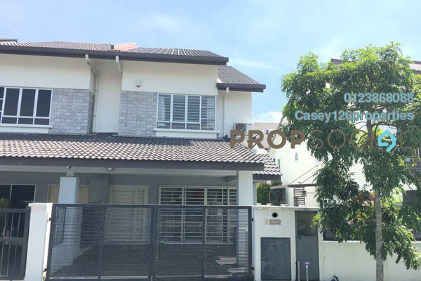 For Sale Terrace at Bandar Nusaputra, Puchong Freehold Semi Furnished 4R/4B 1m