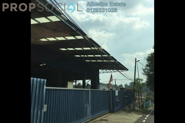 For Rent Factory at Kampung Bukit Cherakah Jaya, Shah Alam Freehold Semi Furnished 0R/3B 18k