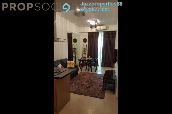 For Sale SoHo/Studio at 231 TR, KLCC Freehold Semi Furnished 1R/1B 530k