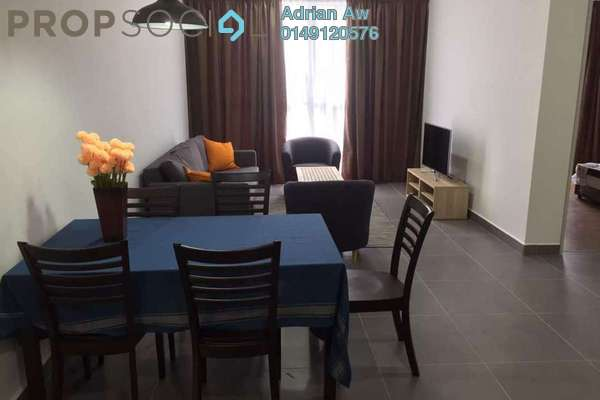 For Rent Condominium at Sentrio Suites, Desa Pandan Freehold Fully Furnished 3R/3B 3.8k