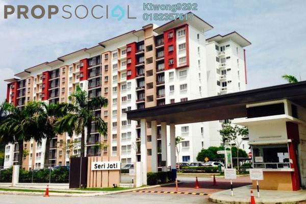 For Sale Apartment at Seri Jati Apartment, Setia Alam Freehold Unfurnished 3R/2B 279k