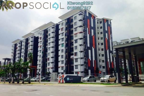 For Sale Apartment at Seri Kasturi, Setia Alam Freehold Unfurnished 3R/2B 328k