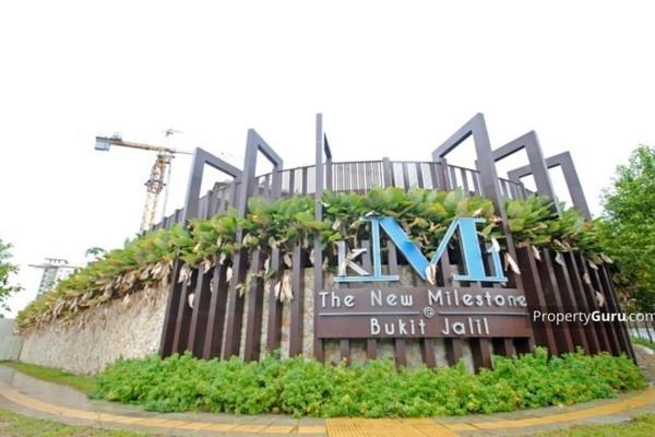 For Rent Condominium at KM1, Bukit Jalil Freehold Semi Furnished 3R/2B 2k