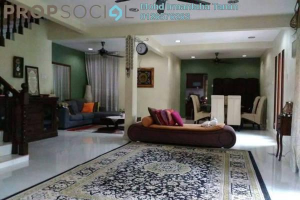 For Sale Terrace at Taman Bunga Negara, Shah Alam Freehold Semi Furnished 4R/3B 850k