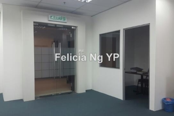 For Rent Office at Menara UOA Bangsar, Bangsar Leasehold Unfurnished 0R/1B 4.5k