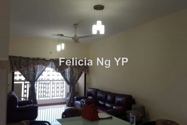 For Rent Condominium at Pelangi Utama, Bandar Utama Leasehold Semi Furnished 3R/2B 2k