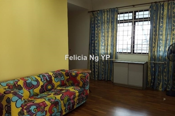 For Sale Condominium at One Ampang Avenue, Ampang Leasehold Semi Furnished 4R/4B 875k