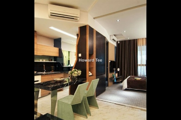For Rent Condominium at VERVE Suites, Mont Kiara Freehold Semi Furnished 1R/1B 2.5k