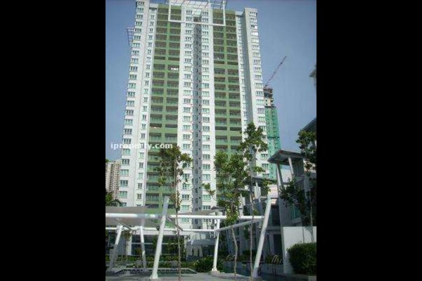 For Rent Condominium at Kiara Designer Suites, Mont Kiara Freehold Semi Furnished 3R/3B 3.8k